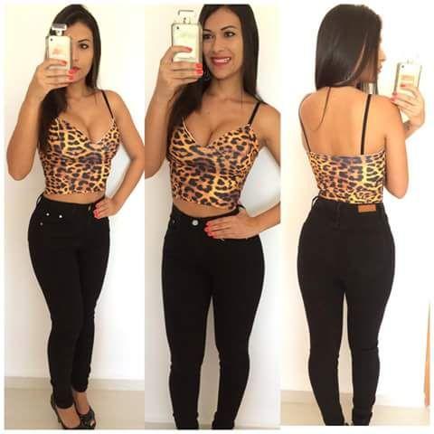 7454f99ea Calça Hot Pants Preta - Grolla´s Moda Praia   Moda Feminina.